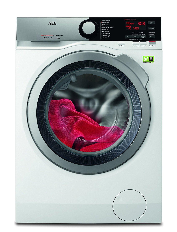 aeg lavamat l8fe74485 frontlader waschmaschine 8 kg fassungsverm gen eek a ebay. Black Bedroom Furniture Sets. Home Design Ideas